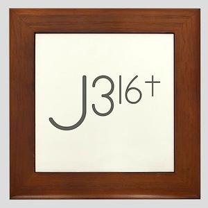 J316Typo Framed Tile