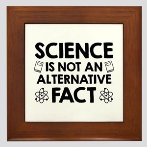 Science Framed Tile