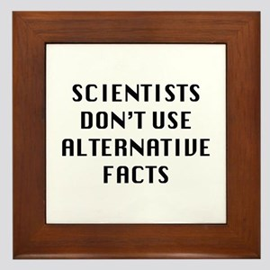 Scientists Framed Tile