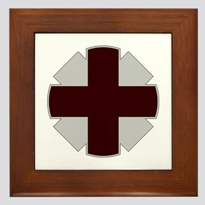 44th Medical Command Framed Tile