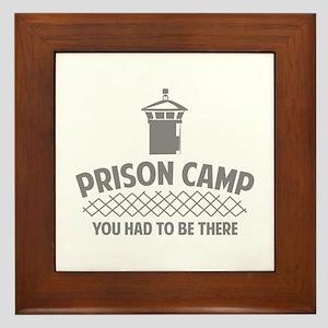 Prison Camp Framed Tile
