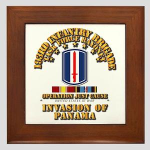 Just Cause - 193rd Infantry Bde w Svc Framed Tile