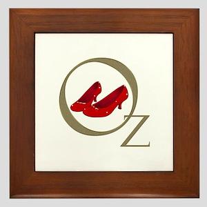 Wizard Of Oz Framed Tile