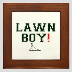 LAWN BOY! Framed Tile