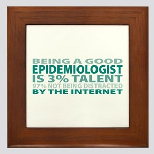 Good Epidemiologist Framed Tile
