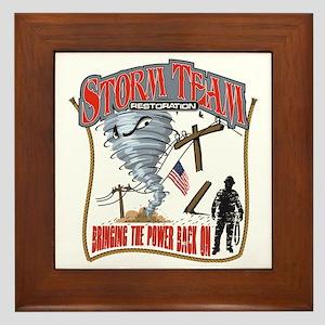 2011 Tornado Storm Cafe Press Framed Tile