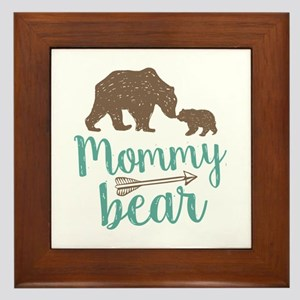 Mommy Bear Framed Tile