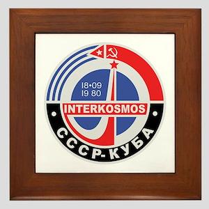 Interkosmos Framed Tile
