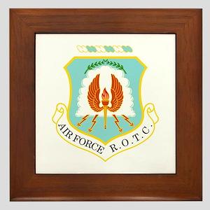 Air Force ROTC Framed Tile