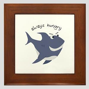 Always Hungry Framed Tile