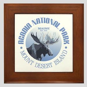 Acadia National Park (moose) Framed Tile