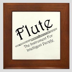 Intelligent Flute Framed Tile