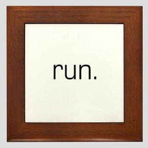 Run Framed Tile