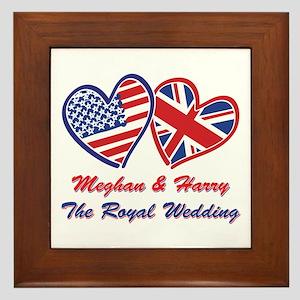 The Royal Wedding Framed Tile