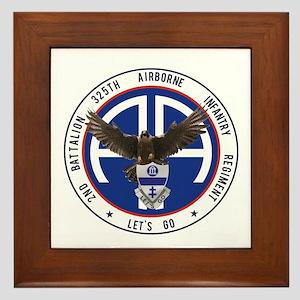 2nd / 325th AIR Framed Tile