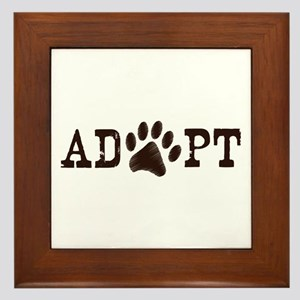 Adopt an Animal Framed Tile