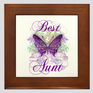 Best Aunt Framed Tile