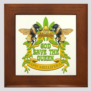 queen tshirt Framed Tile