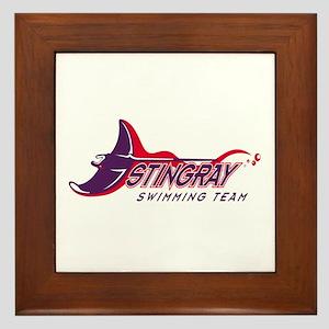 Stingray Swim Team Framed Tile