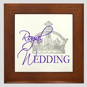 Royal Wedding London England Framed Tile