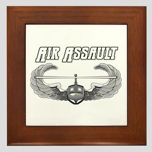Army Air Assault Framed Tile