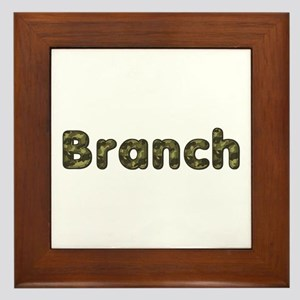 Branch Army Framed Tile