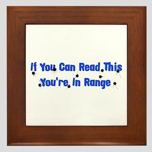 In Range Framed Tile