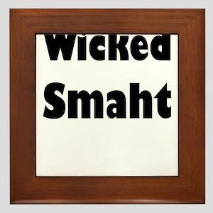 Wicked Smaht Framed Tile