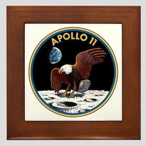 Apollo 11 Insignia Framed Tile