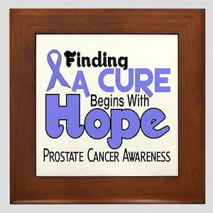 HOPE Prostate Cancer 5 Framed Tile