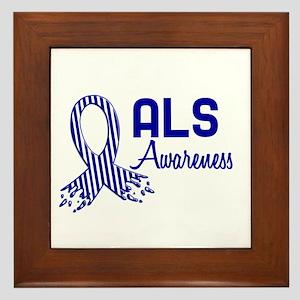 ALS Awareness Framed Tile