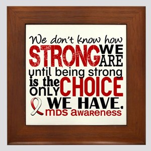 MDS How Strong We Are Framed Tile