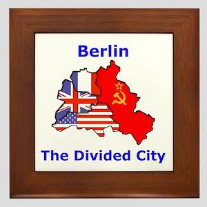 Berlin: The Divided City Framed Tile