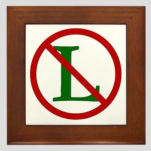 NOEL (NO L Sign) Framed Tile