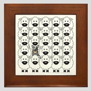 ACD and Sheep Framed Tile