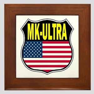 PROJECT MK ULTRA Framed Tile