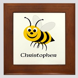 Bee Framed Tile