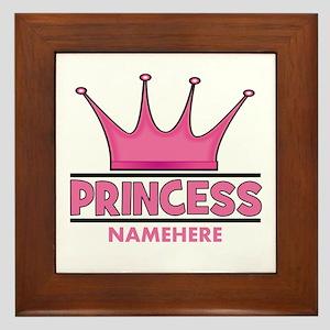 Custom Princess Framed Tile