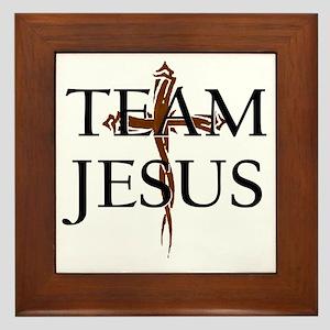 TeamJesus Framed Tile