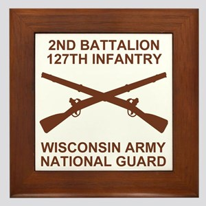 ARNG-127th-Infantry-Shirt-9 Framed Tile