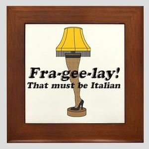 fragelee-Leg_Lamp Framed Tile