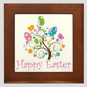Happy Easter Framed Tile