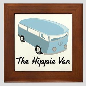 The Hippie Van Framed Tile