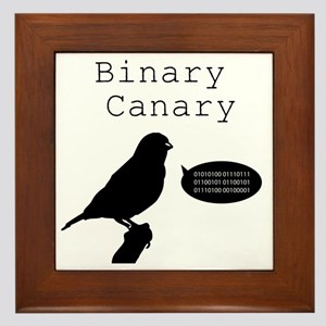 binarycanary Framed Tile