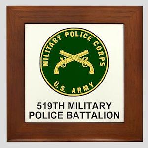 Army-519th-MP-Bn-Shirt-4 Framed Tile