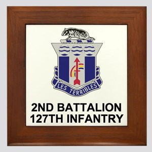 ARNG-127th-Infantry-Shirt-3 Framed Tile
