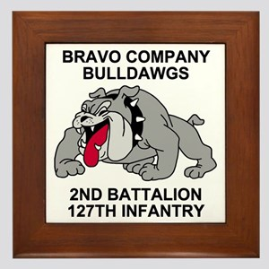 ARNG-127th-Infantry-B-Co-Shirt-7 Framed Tile