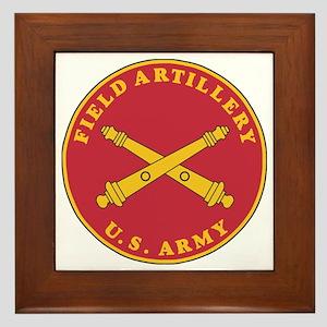 Army-Artillery-Branch-Plaque-Bonnie.gi Framed Tile