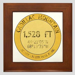 Cadillac Mountain Framed Tile