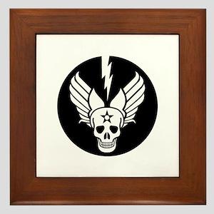 Death From Above - Mors Ab Alto Framed Tile